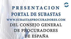 presentación portal de subastas